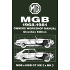 MG MGB & MGB GT Owners Workshop Manual 1968-1981