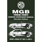 MG MGB & MGB GT Owners Workshop Manual 1968-1981