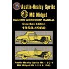 MG Midget Sprite Owners Workshop Manual 1958-1980