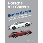Porsche 911 Carrera Service Manual 1984-1989 Now in Hardcover