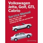 Volkswagen Jetta, Golf, GTI 1993-1999 Cabrio 1995-2002 Service Manual Now in Hardcover New ISBN