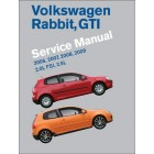 Volkswagen Rabbit, GTI Service Manual 2006-2009 (VW Golf) Now in Hardcover