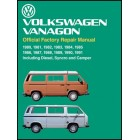 Volkswagen Vanagon Repair Manual 1980-1991 Now in Hardcover