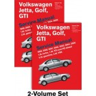 Volkswagen Jetta, Golf, GTI Service Manual 1999-2005 Now in Hardcover, New 2 Volume Set
