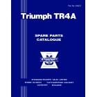 Triumph TR4A Parts Catalogue