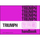 Triumph TR6 Official Owners Handbook (US Edition)