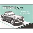 Triumph TR4 Owners Handbook