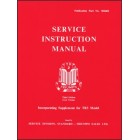 Triumph TR2 & TR3 Service Instruction Manual
