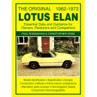 The Original Lotus Elan - Essential Data &amp; Guidance for Owners, Restorers &amp; Competitors