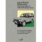 Land Rover Discovery Workshop Manual 1990-1994 MY