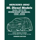 Mercedes Benz ML Diesel Models Series 163 & 164 Owners Workshop Manual 1998-2006