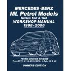 Mercedes-Benz ML Petrol Models Series 163 & 164 Owners Workshop Manual 1998-2006