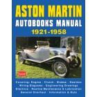 Aston Martin Autobook Manual 1921-1958