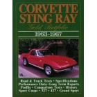 Corvette Stingray Gold Portfolio 1963-1967