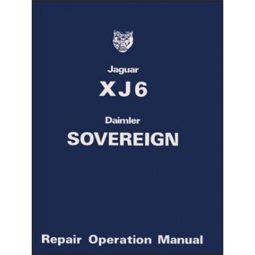 Jaguar XJ6 & Daimler Sovereign Series 2 Service Manual