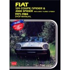 Fiat 124 Coupe Spider & Spider Shop Manual 1971-1984