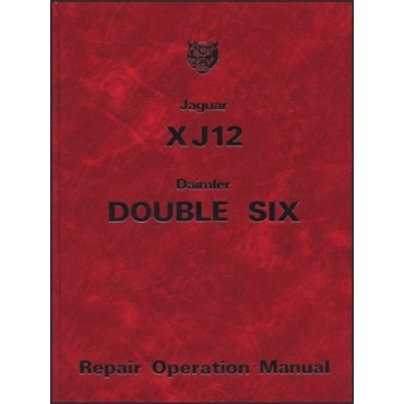 Jaguar XJ12 & Daimler Double Six Series 2 Repair Operation Manual