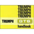 Triumph GT6 MK 2 & GT6+ Owners Handbook
