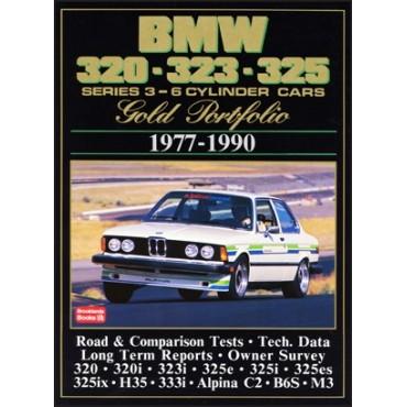 BMW 320 323 325 Series 3 - 6 Cylinder Cars Gold Portfolio 1977-1990