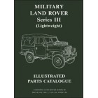 Military Land Rover Series III Lightweight Illustrated Parts Catalogue