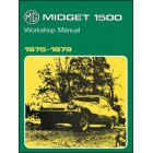 MG Midget 1500 Workshop Manual 1975-1979