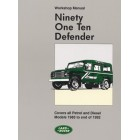 Land Rover 90 110 Defender Official Workshop Manual 1983-1992 MY