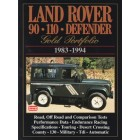 Land Rover 90 110 Defender Gold Portfolio 1983-1994