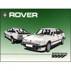 Rover Vitesse, Vanden Plas & VP EFI Owners Handbook (SD1)