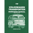 VW Transporter Petrol Workshop Manual Owners Edition 1982-1989