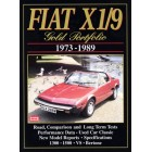 Fiat X1/9 Gold Portfolio 1973-1989