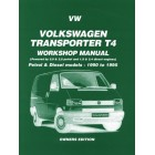 VW Transporter T4 Petrol and Diesel Workshop Manual Owners Edition 1990-1995