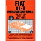 Fiat X1/9 Owners Workshop Manual