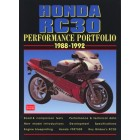 Honda RC30 Performance Portfolio 1988-1992