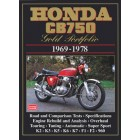 Honda CB750 Gold Portfolio 1969-1978