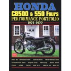 Honda CB500 & 550 Fours Performance Portfolio 1971-1977