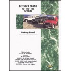 Land Rover Defender Diesel 300Tdi Workshop Manual 1996-1998 MY