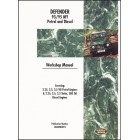 Land Rover Defender Workshop Manual 1993-1995 MY