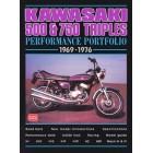 Kawasaki 500 & 750 Performance Portfolio 1969-1976