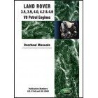 Land Rover 3.5, 3.9, 4.0, 4.2 & 4.6 V8 Petrol Engine Overhaul Manuals