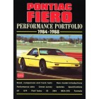 Pontiac Fiero Performance Portfolio 1984-1988