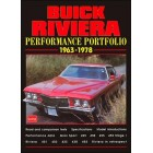 Buick Riviera Performance Portfolio 1963-1978