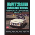 Datsun Roadsters Performance Portfolio 1960-1971