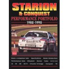 Starion and Conquest Performance Portfolio 1982-1990