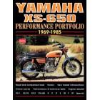 Yamaha XS-650 Performance Portfolio 1969-1985