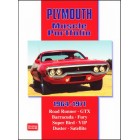 Plymouth Muscle Portfolio 1964-1971