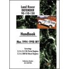 Land Rover Defender 90 110 130 Handbook 1994-1998