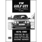 VW Golf GTI Limited Edition Extra 1976-1991