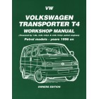 VW Transporter T4 Petrol Workshop Manual Owners Edition 1996-1999