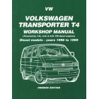 VW Transporter T4 Diesel Workshop Manual Owners Edition 1996-1999