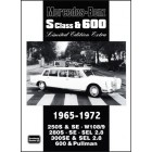 Mercedes-Benz S Class & 600 Limited Edition Extra 1965-1972